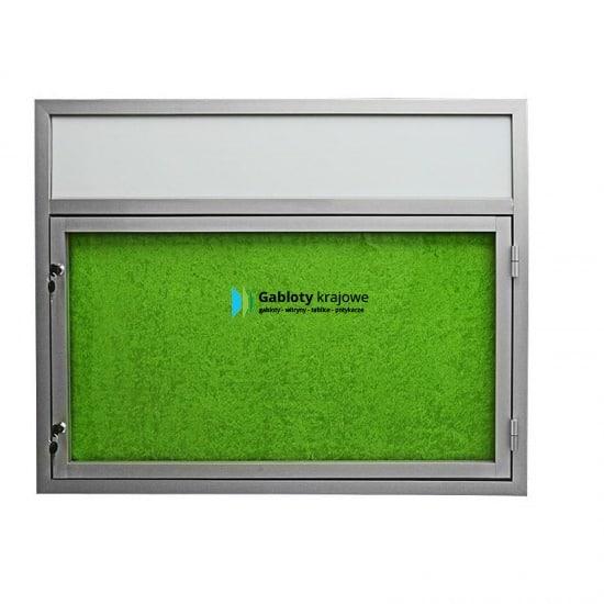 Gablota szklana 32-B3,2F-VZ aluminiowa na boki