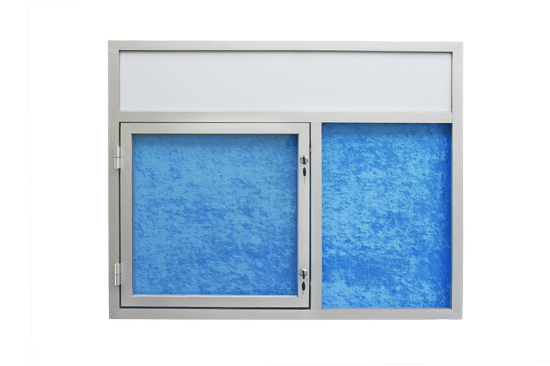 Gablota szklana 45-JC3,2F-QQ wewnętrzna wisząca