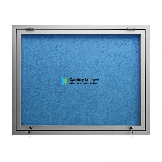 Gablota szklana 65-G3,2-XY aluminiowa wisząca do góry