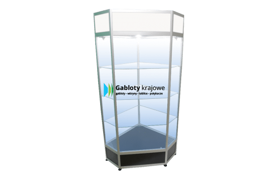 Gablota szklana 6WS21FG4 uchylana na boki