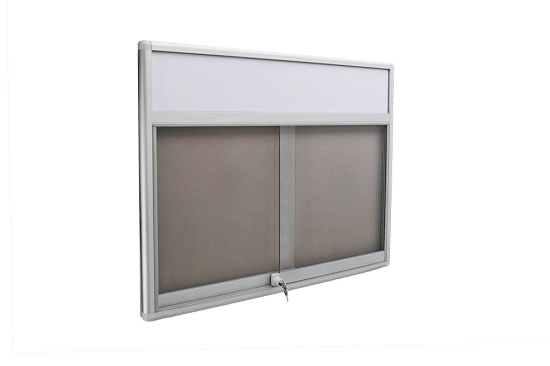 Gablota szklana 9PH3FG9 aluminiowa przesuwna przesuwna