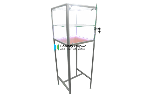 Witryna szklana 10WS15G7 jednostronna uchylana