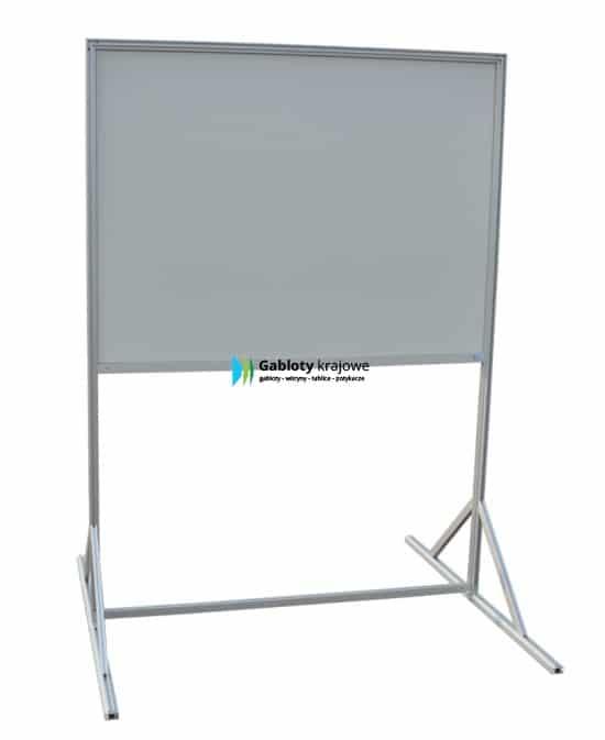 Tablica informacyjna stojąca 05-WTD-ZQ aluminiowa jednostronna