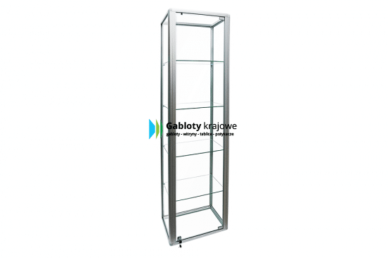 Witryna stojąca 21-WS3-ZZ wewnętrzna aluminiowa uchylna