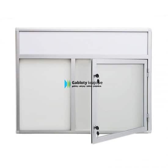 Szklana witryna 3JC3FG1 aluminiowa 1-skrzydłowa uchylana