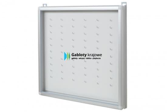 Szklana witryna 52-KA8-QZ aluminiowa wisząca